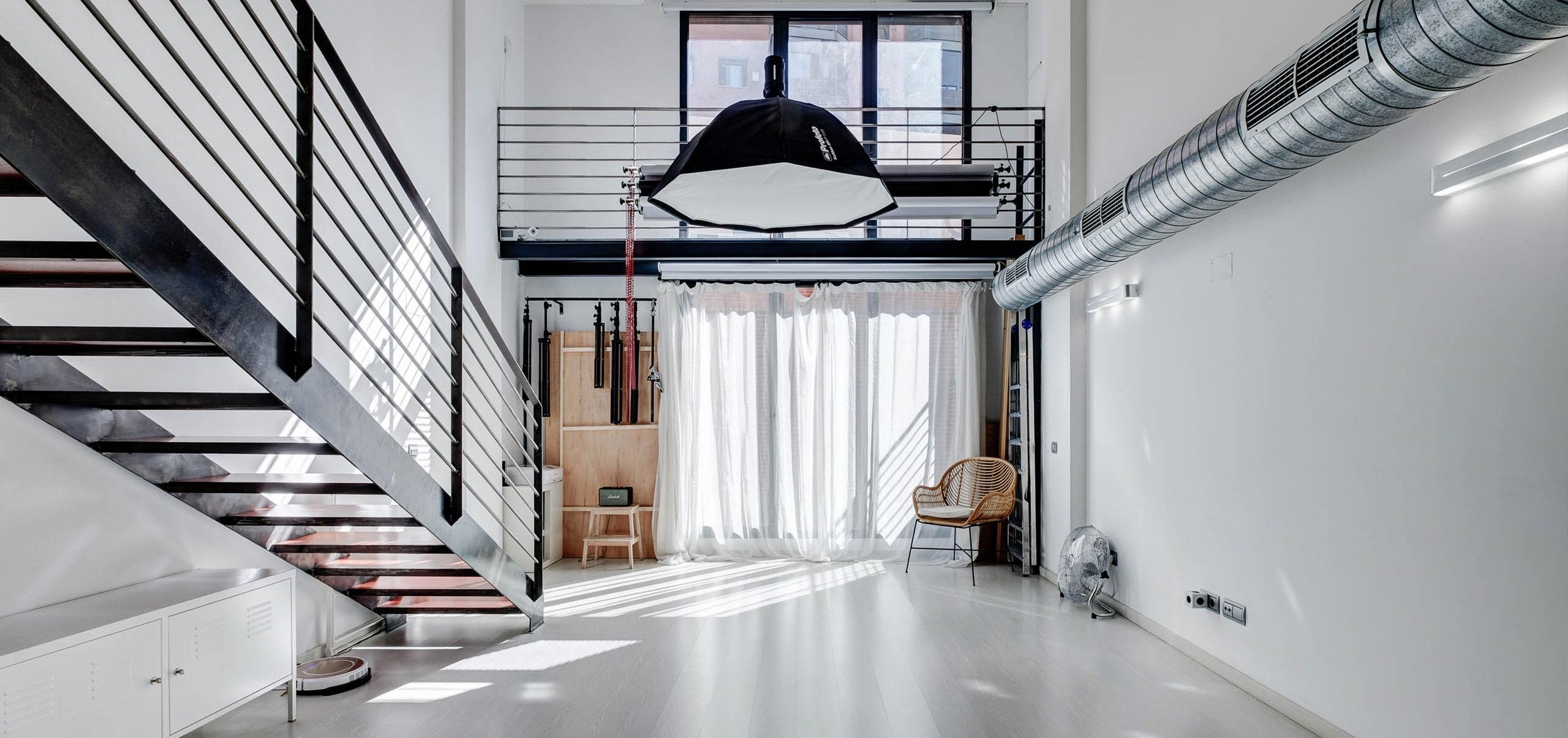 Alquiler de estudio fotográfico en Madrid